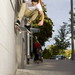 Robin Lundberg Wallride nollie